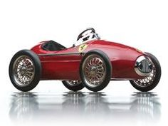 Ferrari reproduction style pedal car, 1960s. The Andrews Collection 2015. RM Sotheby's