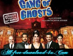 Poster Of Hindi Movie Gang of Ghosts (2014) Free Download Full New Hindi Movie Watch Online At all-free-download-4u.com