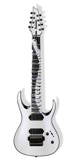 Dino Cazares's, new custom 8 string guitar