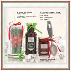 Add a little sweet to someone's gift this year.  These are very budget friendly gifts that you can do for someone special on your gift list!  www.PamperedChef.biz/SheilaDacey