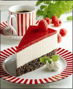 Malinovo tvarohová torta bez múky