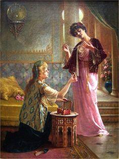 Pintores do Orientalismo! | Artes & Humor de Mulher