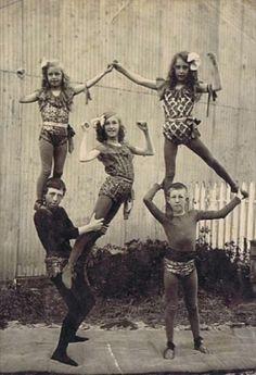 vintage circus act c.1922