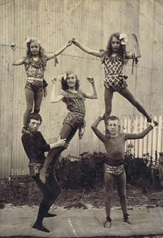 vintage circus act c.1922