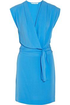 Diane von Furstenberg belted silk wrap dress