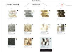 Dune Ceramics Emphasis Dune #Luxury #Mosaic  #Tile #Architecture