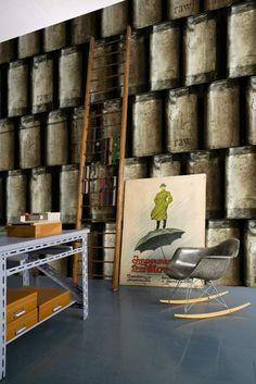 déco avec du pepier peint moderne par Wall&Deco