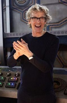 """pepaldi: """" He's had so much fun on Doctor Who! So much fun! More BTS pics from When The Doctor Falls over at (x) """" I love his smile. Thank you to the entire Doctor Who production team. What an amazing. I Am The Doctor, Twelfth Doctor, Eleventh Doctor, David Tennant Doctor Who, John Barrowman, Doctor Who Quotes, Peter Capaldi, Jenna Coleman, Torchwood"""