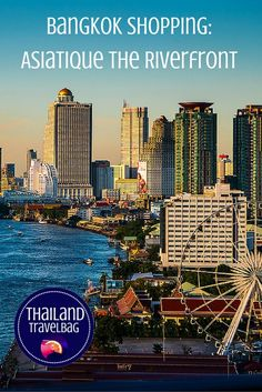 Experience the glamour and style of Asiatique The Riverfront #Bangkok #Thailand #Asiatique
