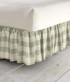 Buffalo Check Gathered Bed Skirt   15