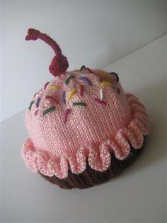Ravelry: Sweet City Cupcake Hat pattern by Lori Sands