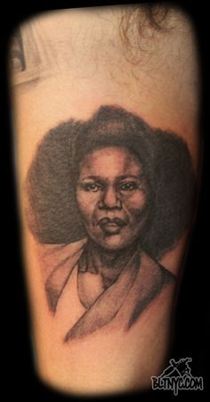 Portrait Tattoo by Nasa at Body Language Tattoo Shop NYC #tattoo #portraittattoo #tattooartist #bodyart