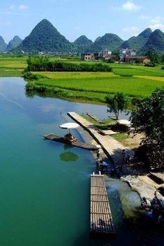 Yangshuo, Guilin County, Guangxi Providence, China