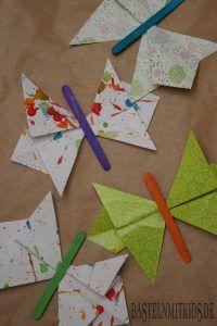 Schmetterling Falten Aus Papier