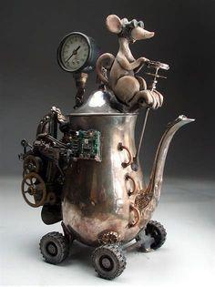 Bildergebnis für steampunk pottery