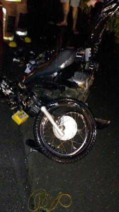Motoqueiro morre ao bater em caminhão na BR 470 em Apiúna