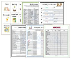 Couponing Binder free 36 pages of printables! Get it while you still can :)    10-23-2013