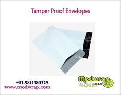 Tamper Evident Proof Mailer Bags With POD available online at Modwrap. For complete details visit: http://www.modwrap.com/tamper-proof-mailer-bags-with-pod-jacket/21429/100
