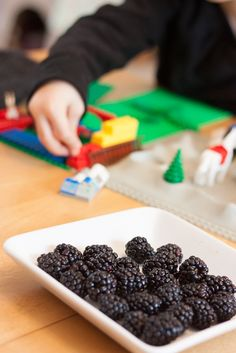 Tips To Getting Kids to Eat healthy: Could it be as simple as just putting out healthy foods for them to snack on as they play during the day?
