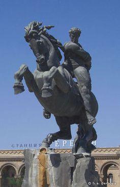 Sasuntsi Davit Statue (Armenia)