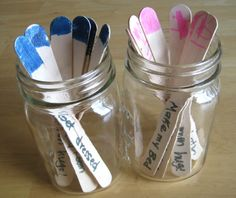 A Chores' jar for small kids on summer break. What a great motivation!   How Are You Keeping to a Schedule During the Summer? - Make and Takes