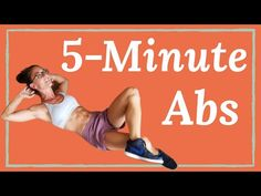 Core Workout- No equipment Home Workout by Fit Tiff Quick and effective workout videos for toned abs and a flat stomach. 5 Minute Abs Workout, Six Pack Abs Workout, Workout For Flat Stomach, Stomach Workouts, Home Exercise Routines, Abs Workout Routines, Workout Videos, Men Exercise, Workout List