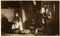 Inside an old Irish Cottage. A Thousand Years, Old Pictures, Old Photos, Vintage Photos, The Wild Geese, Old Irish, Irish Eyes Are Smiling, Irish Cottage, Irish Roots