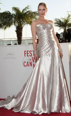 Uma Thurman at Award winners photocall during the 66th Cannes Film Festival 2013 at the Palais des Festivals on the Croisette Avenue in Cannes.