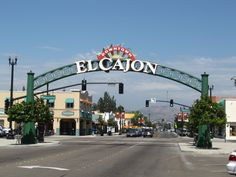 El Cajon California  - Historic U.S. Highway 80 East