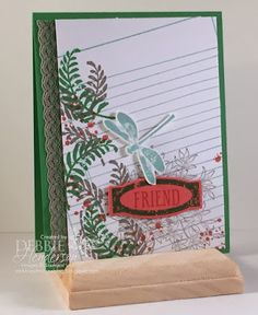 Stampin' Up! Awesomely Artistic. Debbie Henderson, Debbie's Designs.