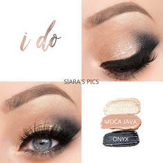 I Do Eye Trio created with Senegence ShadowSense shades in Sandstone Pearl Shimmer, Moca Java, and Onyx Blending Eyeshadow, Eyeshadow Looks, Eyeshadow Tips, Bridal Makeup, Wedding Makeup, Senegence Makeup, Senegence Products, Shadow Sense, Diy Makeup