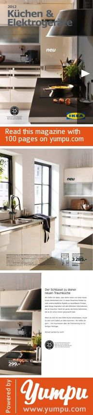 Garderobe Schuhschrank Ikea ~ IKEA Küchen & Elektrogeräte 2012  Magazine with 100 pages IKEA