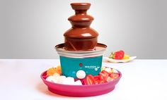 Groupon - Chocolate Fondue Fountain. Free Shipping and Returns. in Online Deal. Groupon deal price: $0.28