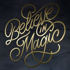 Typeverything.com - Believe in Magic by Faust New...