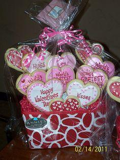 Cookie Bouquet - Valentines Day