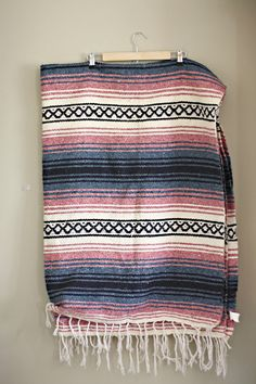 vintage/ banket/ mexican blanket/ tribal blanket/ aztec blanket/ - perfect!
