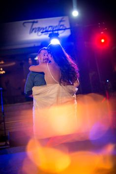First dance for groom and bride