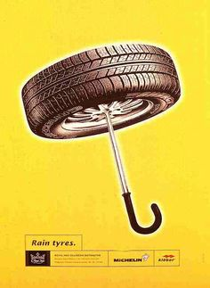 The Print Ad titled RAIN TYRES (Royal Inex) was done by Saatchi & Saatchi Belgrade advertising agency for Michelin in Serbia. Viral Marketing, Guerilla Marketing, Brand Advertising, Advertising Poster, Ads Creative, Creative Advertising, Ad Design, Graphic Design Art, Print Design