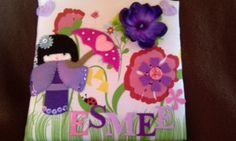 Made@Home by Roos! Schilderij stof/ vilt