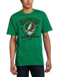 SALE Grateful Dead Short Sleeve Shirt  Size by sherrishempdesigns