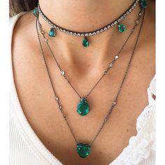 New Jewerly Necklace Diamond Fashion Jewels 35 Ideas Body Jewelry, Fine Jewelry, Jewelry Necklaces, Bracelets, Diamond Pendant Necklace, Diamond Jewelry, Diamond Necklaces, Diamond Choker, Drop Necklace