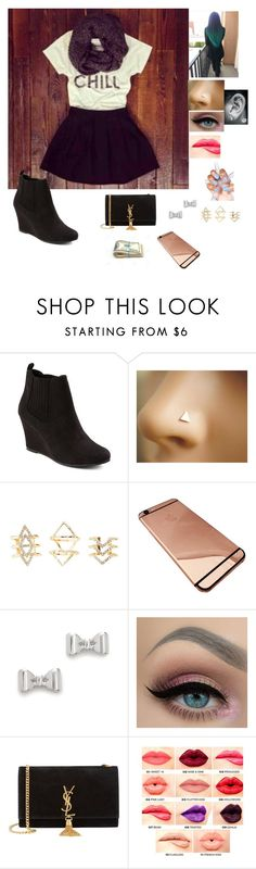 """""""Spring Shopping"""" by gymnastics7 ❤ liked on Polyvore featuring Merona, Charlotte Russe, Marc by Marc Jacobs, Yves Saint Laurent, NYX, women's clothing, women, female, woman and misses"""
