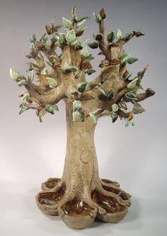 Markels Roberts Ceramic Tree www.divingcatstudio.com