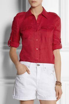 More fitted Safari Sam overshirt