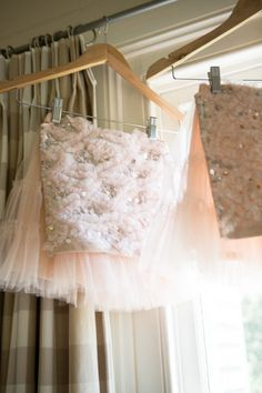 Divine Flower girl tutus in soft vintage ink