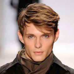 Прически на средние волосы мужские для создания ...
