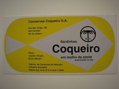 Alexandre Wollner - Embalagem Sardinhas Coqueiro Azeite
