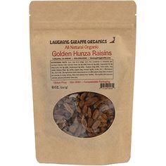 All Natural Organic Golden Hunza Raisins