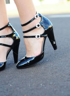 Chanel. You were made for me, shoes. Now get on my feet.
