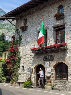 Vecchia Torre Bar, Griante, Lake Como, Italy